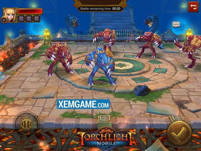 Torchlight Mobile | XEMGAME.COM