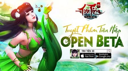 Tru Tiên 3D Mobile tặng 200 giftcode giá trị nhân dịp game ra mắt chính thức