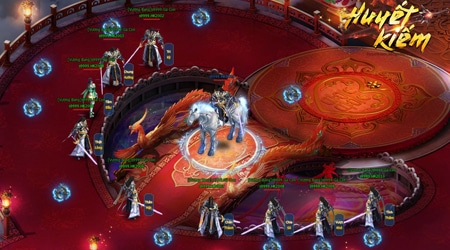 Huyết Kiếm – Webgame võ hiệp đẹp như mơ rất đáng để thử qua