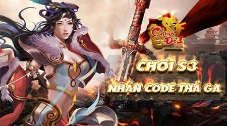 Chinh Đồ 1 Mobile tặng 500 giftcode nhân dịp Close Beta không reset nhân vật