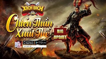 Xích Bích 3D khai mở Update Chiến Thần Xuất Thế – Khởi tranh giải đấu Đế Vương