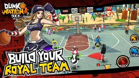 Dunk Nation 3×3 – game MOBA mới lạ lấy đề tài …. bóng rổ
