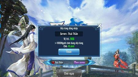 """Game thủ """"chen chúc"""" nhau trong ngày đầu Thiện Nữ mobile ra mắt"""
