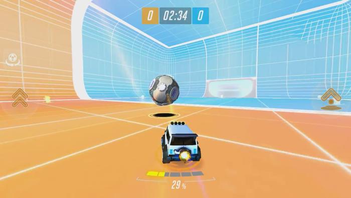 Supercharged – game đá bóng bằng xe đưa cực ngộ nghĩnh