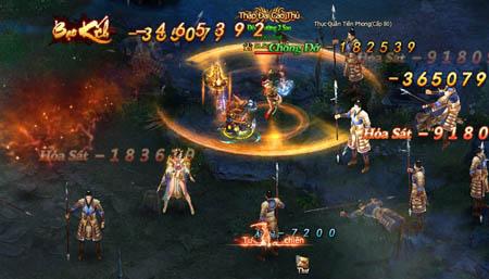 Huyết Chiến Tam Quốc đầu tư kỹ lưỡng từ đồ họa cho đến gameplay