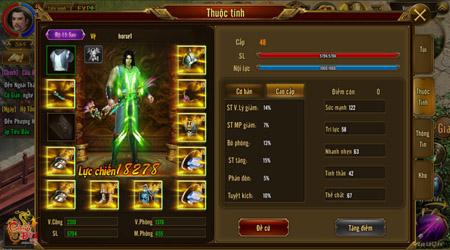 Cận cảnh hệ thống năng lực và thành tựu nhân vật Chinh Đồ 1 Mobile