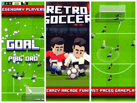 Retro Soccer – game bóng đá ngộ nghĩnh đầy màu sắc
