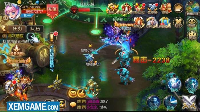Kỵ Sĩ Rồng Mobile   XEMGAME.COM