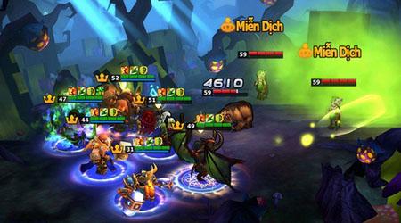 Doto Mobile – game chiến thuật vẻ ngoài không khác gì huyền thoại Warcraft!!!