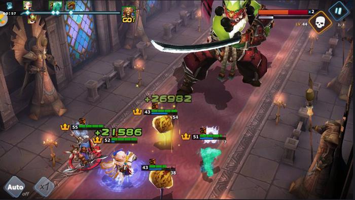 Doto Mobile : lối chơi cuốn hút, hiệu ứng đẹp mắt kế thừa từ Warcraft