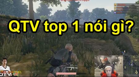 Cảm xúc của QTV, PewPew, NTN Vlogs và các streamer nổi tiếng khác khi được TOP 1 Battlegrounds