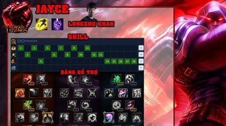 Liên Minh Huyền Thoại: Hướng dẫn chơi Jayce gánh team lực như Longzhu Khan