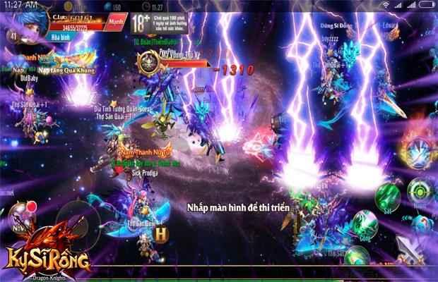Kỵ Sĩ Rồng chính thức ra mắt, nhận ngay Giftcode để gia nhập trận chiến giữa các server