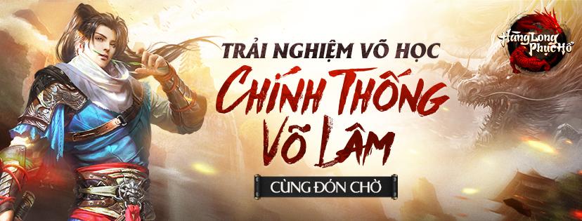 Hàng Long Phục Hổ – Webgame nhập vai kiếm hiệp thế hệ mới đặt chân đến Việt Nam