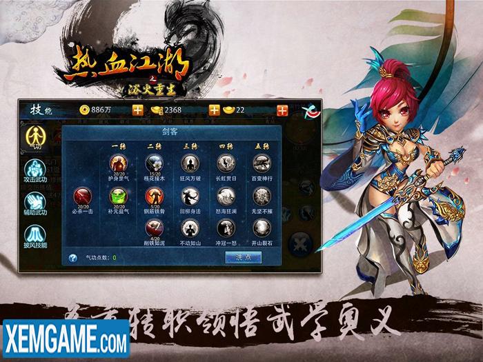 Hiệp Khách Giang Hồ MEM | XEMGAME.COM
