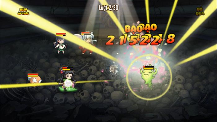 Trải nghiệm Inuyasha Mobile: Lối chơi quen thuộc, đồ họa đậm màu sắc manga