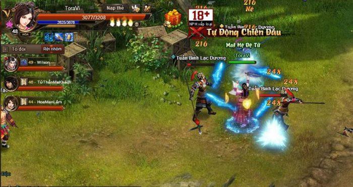 Cửu Âm Truyền Kỳ đưa người chơi trở về thời kỳ đỉnh cao của game nhập vai