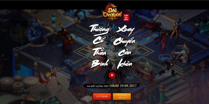 Đại Càn Khôn – Game nhập vai PK trảm boss đã tay công bố ngày thử nghiệm