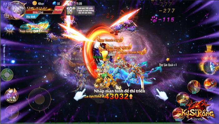 Kỵ Sĩ Rồng Mobile là game có tính năng Bang Hội hay nhất hiện nay?