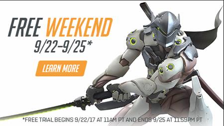 Overwatch lại cho game thủ chơi thử miễn phí cuối tuần này