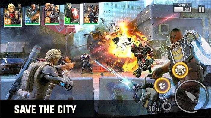 Hero Hunters – siêu phẩm bắn súng chiến thuật tuyệt hay cho di động