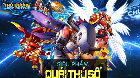 Thú Vương Đại Chiến – tựa game hiếm hoi lấy đề tài Digimon sắp ra mắt game thủ Việt