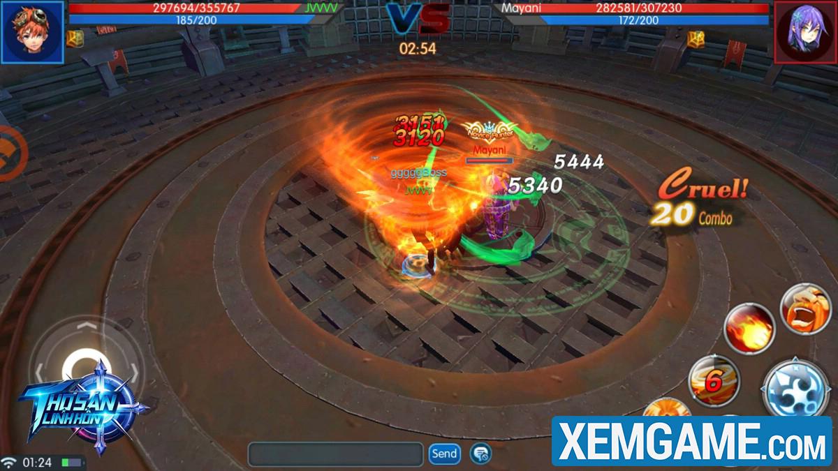 Thợ Săn Linh Hồn Mobile | XEMGAME.COM