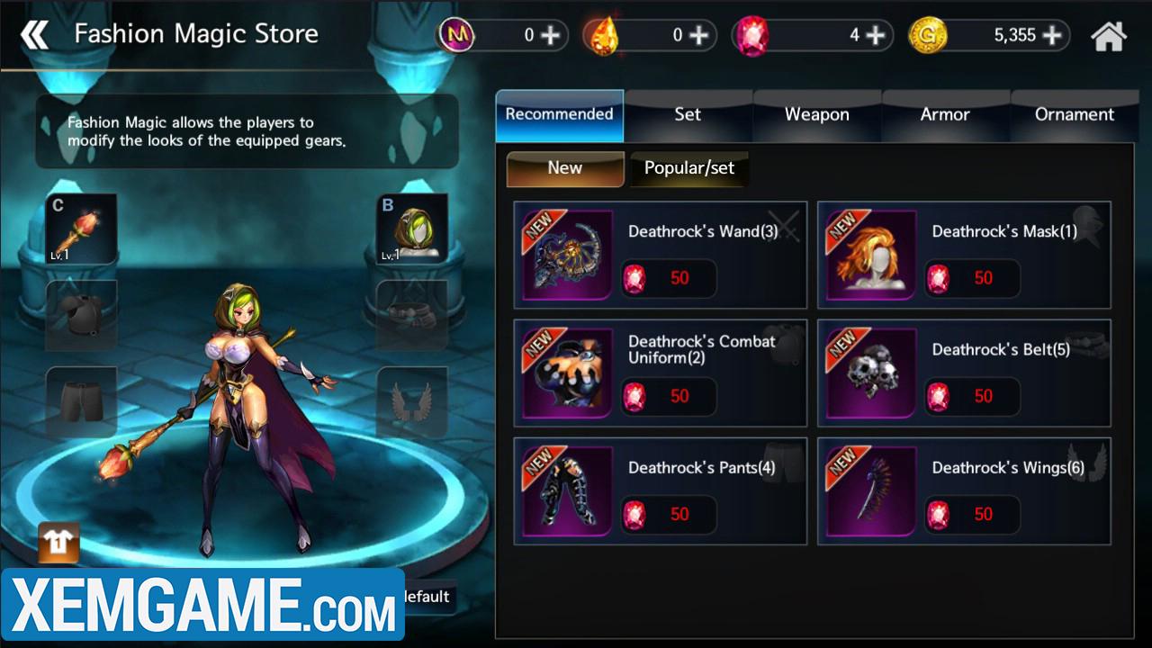 Dragon Spear Mobile | XEMGAME.COM