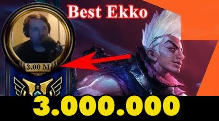 """LMHT: Ngỡ ngàng với """"ông thần"""" sở hữu đến 3.000.000 điểm thông thạo với Ekko"""