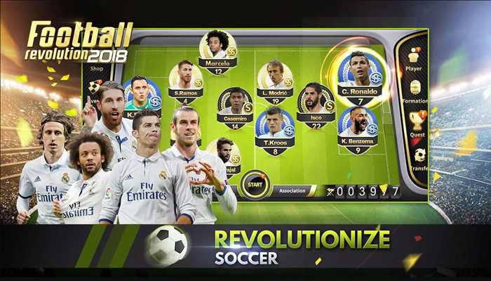 Football Revolution 2018 – game bóng đá thế hệ mới cho di động
