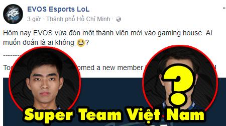"""LMHT: EVOS sẽ trở thành """"super team"""" KT Rolster của Việt Nam khi nhá hàng thành viên mới"""