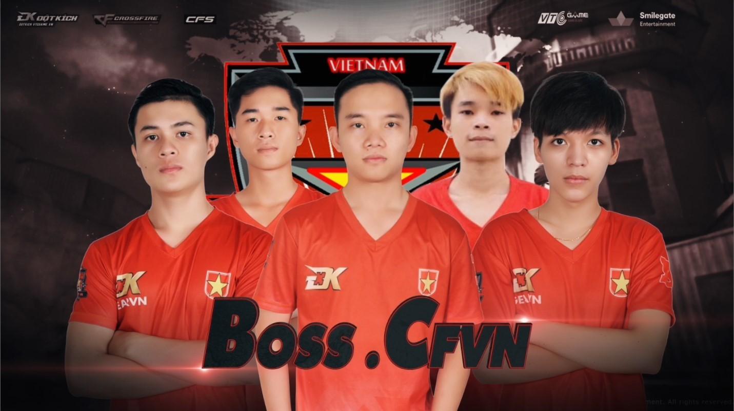 BossCFVN: Lá cờ đầu của Đột Kích Việt Nam tại giải đấu CFSI 2017