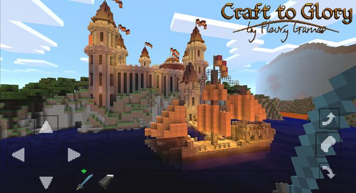 Craft to Glory – một phiên bản Minecraft mới dành cho di động