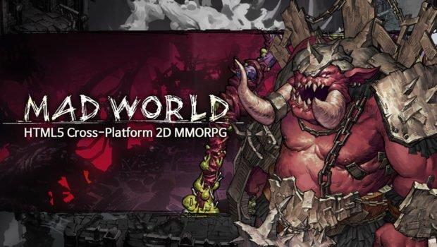 Game nền web ấn tượng Mad World mở cửa cho game thủ chơi thử dịp Halloween này