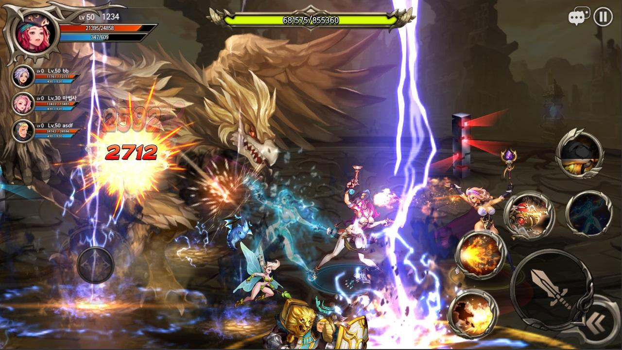 Chất lượng hình ảnh trong Dragon Spear khiến game thủ cho ngay 5 sao!!!