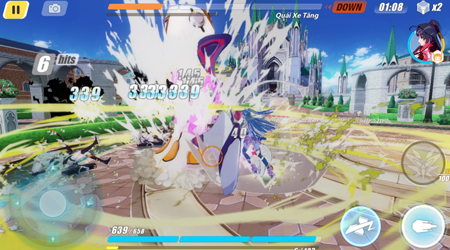 Trải nghiệm Honkai Impact 3 – Game hành động phong cách anime chất cả về đồ họa lẫn gameplay