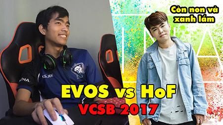 """[Full game] EVOS vs HoF VCSB 2017: Minas trở lại bán hành cho """"super team"""" Việt Nam"""