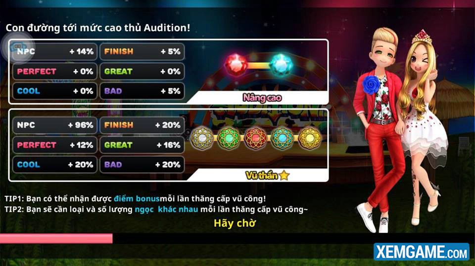 Club Audition | XEMGAME.COM