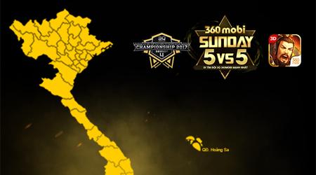 Game thủ 3Q 360mobi TP.HCM rủ nhau lập đội thi 360mobi Sunday