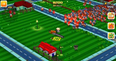 Zombie Bloxx – game chém giết zombie cực kì đã tay