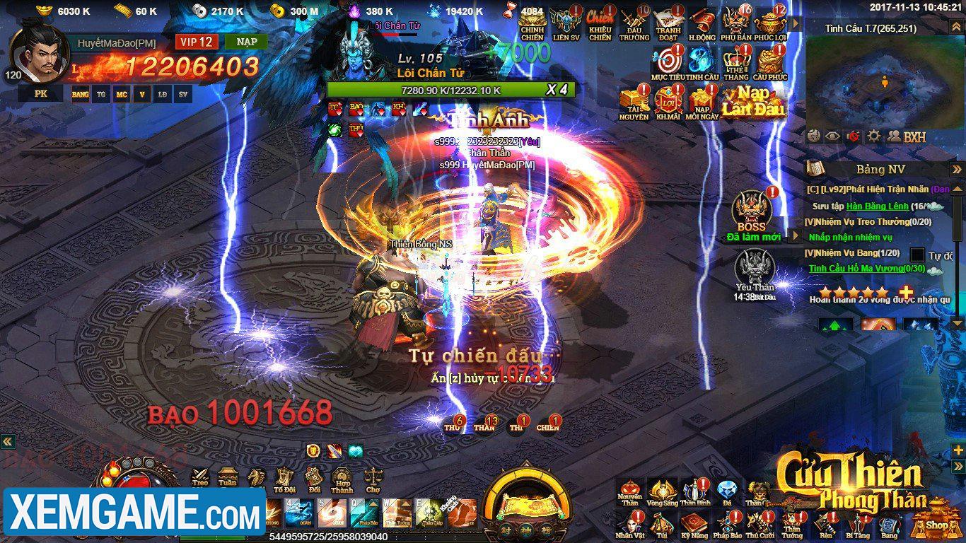 Cửu Thiên Phong Thần | XEMGAME.COM