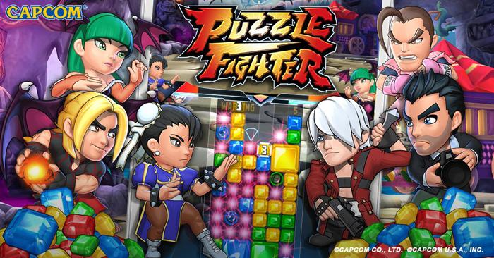 Puzzle Fighter – game xếp hình đối kháng của Capcom ra mắt chính thức