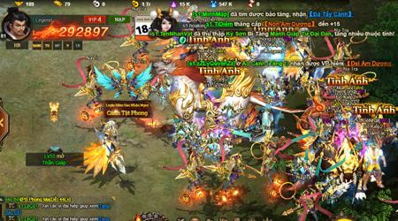 Cửu Thiên Phong Thần sở hữu nhiều tính năng ưu việt được game thủ nhập vai yêu thích