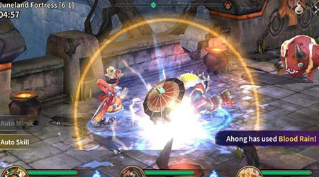 Phantom Chaser là một tựa game nhập vai nhưng đòi hỏi tính chiến thuật cao