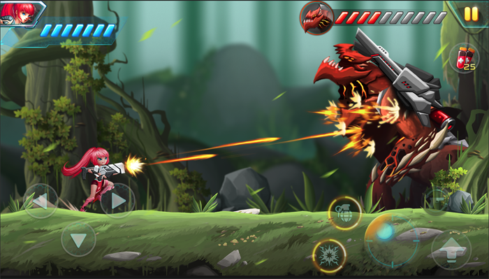 Metal Wings: Elite Force – game đi cảnh giống Rockman cực cuốn hút