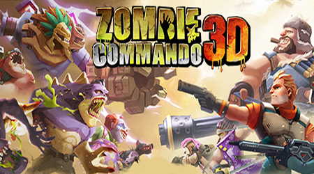 Zombie Commando 3D – game bắn zombie theo kiểu tổ đội cực cuốn