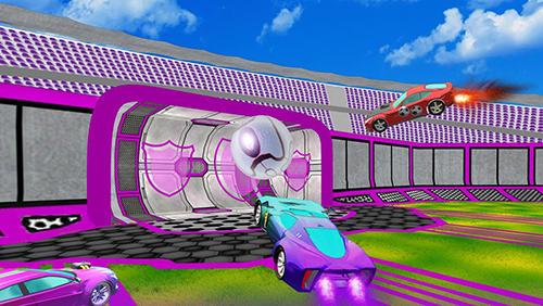 Super RocketBall – game đua xe bóng đá độc lạ trên di động