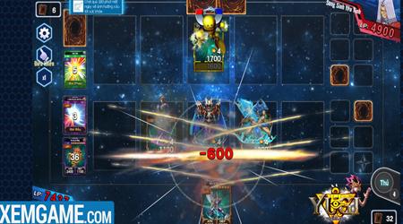 Tất cả ngôn ngữ trong game Yugi H5 đều được dịch sát với truyện Vua Trò Chơi