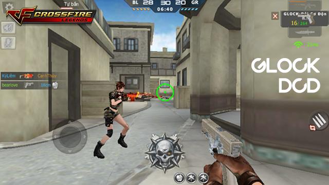 """Crossfire Legends : Tìm hiểu về khẩu lục """"siêu tốc"""" Glock-DCD mới"""