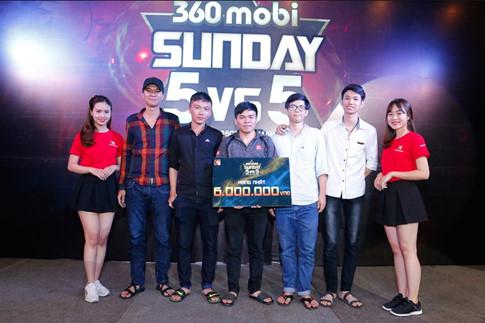Team G – Ứng viên sáng giá chức vô địch 360mobi Pro League 4